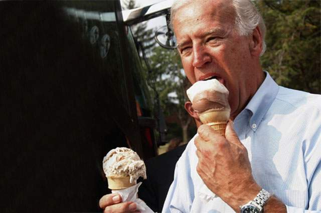 """Oh you say Trump gets two scoops?""  @JoeBiden : https://t.co/FpF2S9jQR1"