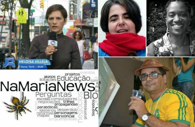 Comunidade Luis Nassif, a blogueira @NaMariaNews precisa de sua ajuda https://t.co/oqVPVZNRnV