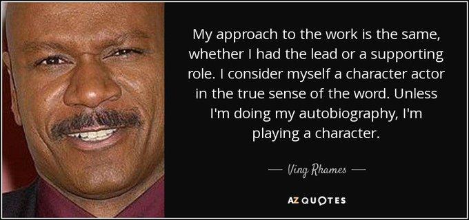 Happy birthday to Ving Rhames!