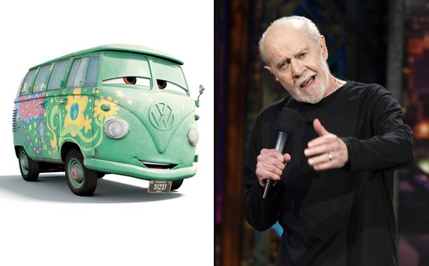 Happy birthday to the late George Carlin, the voice of Fillmore in CARS!
