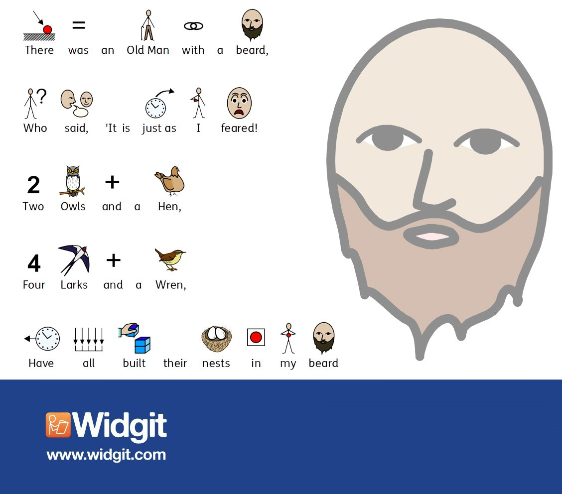 Widgit Software On Twitter Symbol Supported Limerick Created With
