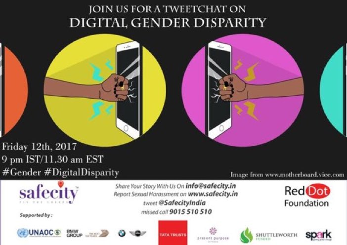 Pls join the tweet chat on #DigitalGenderDisparity today on @pinthecreep at 9 pm,with me😁 @sarikabhattach @buzshilpi https://t.co/wflnVQPM1V