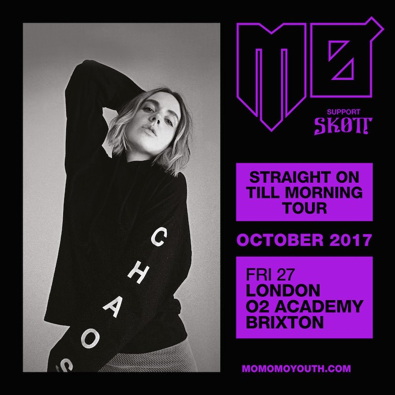 .@MOMOMOYOUTH plays @O2academybrix this October and tickets are on sale now.   https://t.co/YgAQ6dha2a https://t.co/ANbvOQsHsc