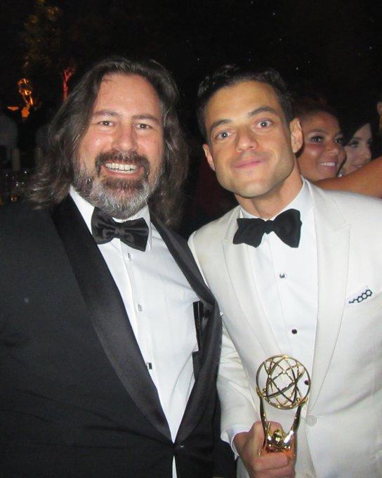 Happy Birthday to actor Rami Malek.