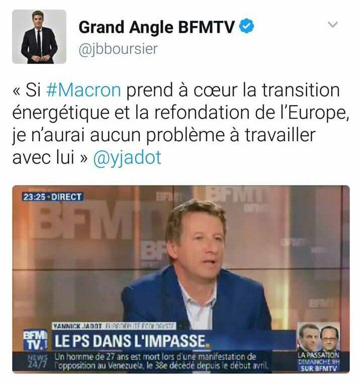 #Opportunisme : on explose les limites du supportable. #Jadot #Macron<br>http://pic.twitter.com/vpWVzijX8W