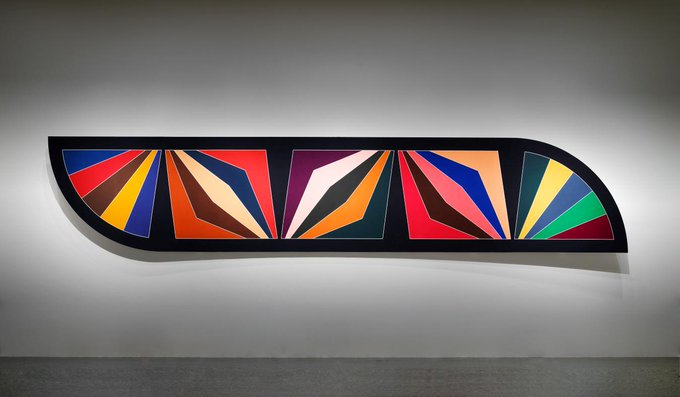 Happy birthday, Frank Stella! The inspirations behind this vibrant, 50-foot-long painting: