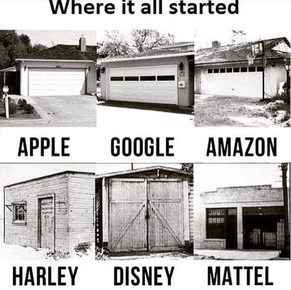 Great things come from humble beginnings...