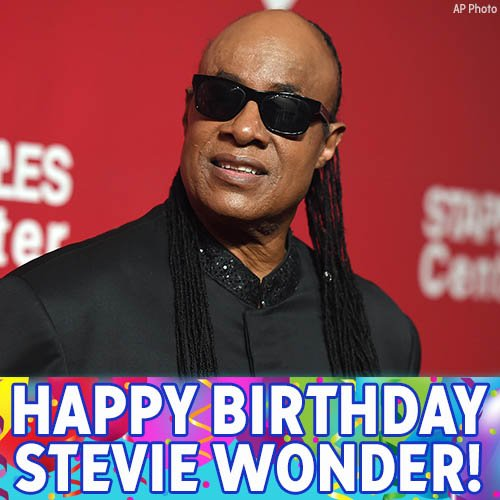 Happy 67th birthday to Stevie Wonder!