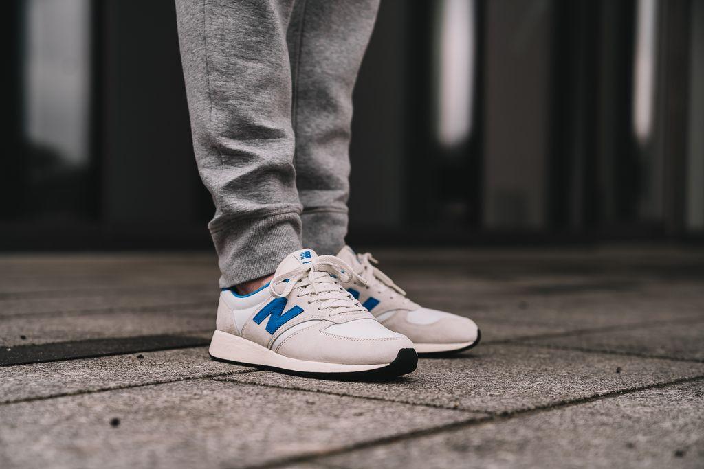 New Balance MRL420 SW White •