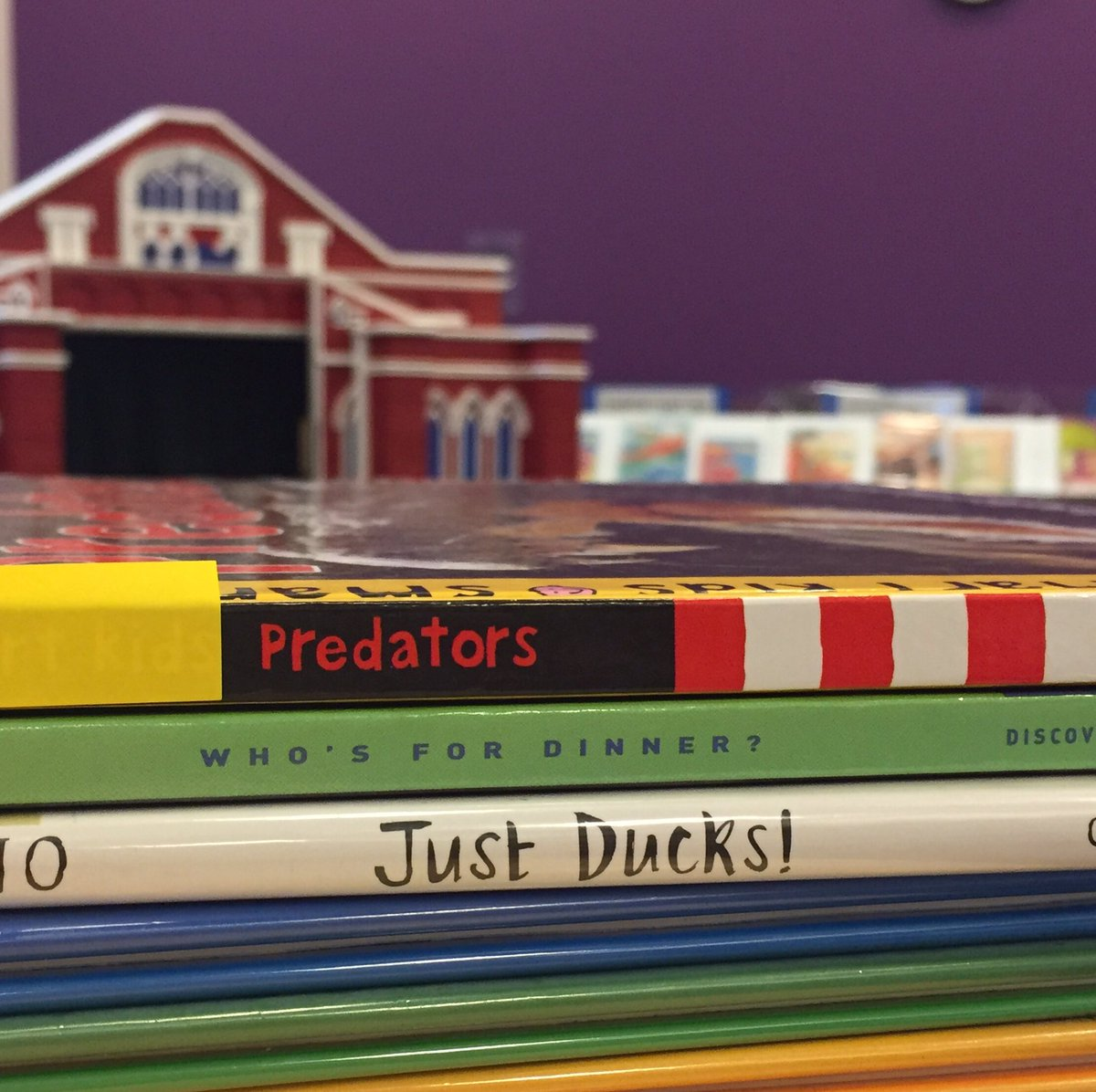 Shelving books & getting excited for @PredsNHL matchup with @AnaheimDucks tonight! #NHLPLAYOFFS #GoPreds #smashville https://t.co/TruvIPIlIV