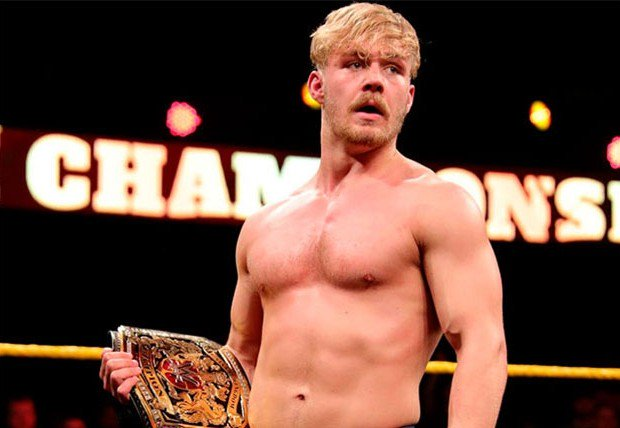 Meet British @WWEUK champion @Tyler_Bate...