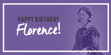 Not only is today International Nurses Day, it is also Florence Nightingale's birthday! #NursesWeek2017 https://t.co/Z8IMH18LHd