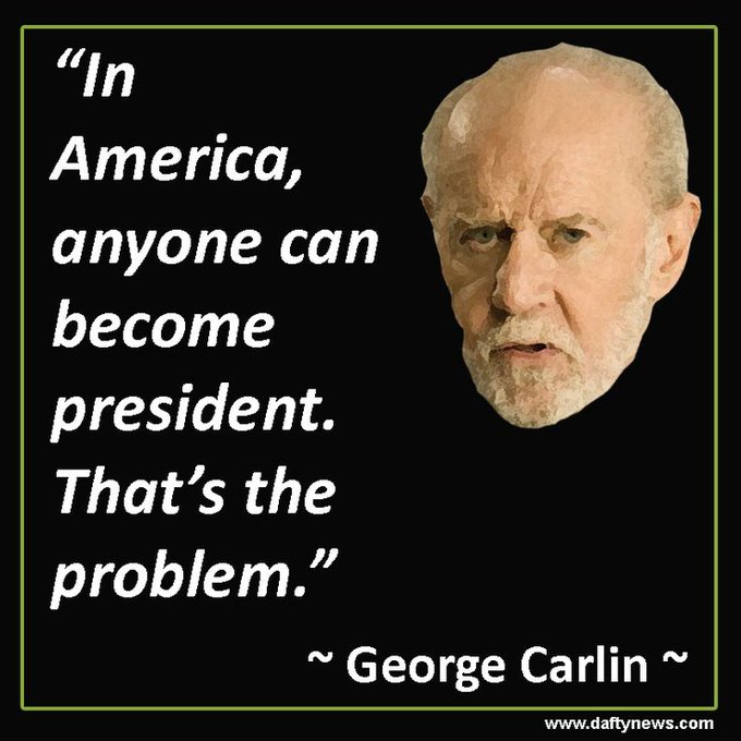 Happy Birthday to George Carlin who would\ve been 80 today.