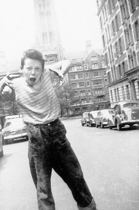 Happy what would have been George Carlin\s 80th Birthday.  And here I present, a very very very very young George.
