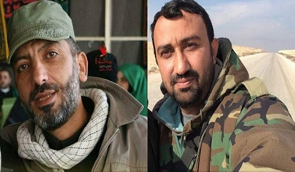 As Hezbollah increased its involvement in an offensive against IS in eastern Homs after many of its fighters left the southern Aleppo countryside, two of its commanders were killed fighting against IS today, Syria.