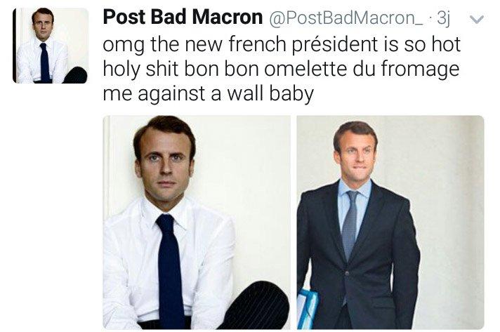 Imagine t-on #Hollande #Sarko #Chirac #Mitterrand #Pompidou #DeGaulle se faire #OmeletteAuFromageContreUnMurer sur Twitter  ? Je me demande<br>http://pic.twitter.com/qSIncAaDhY