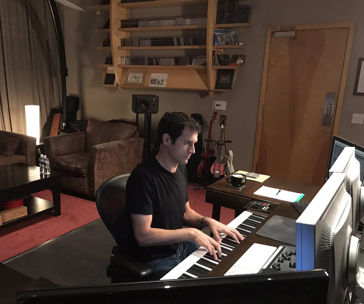Back in the studio.