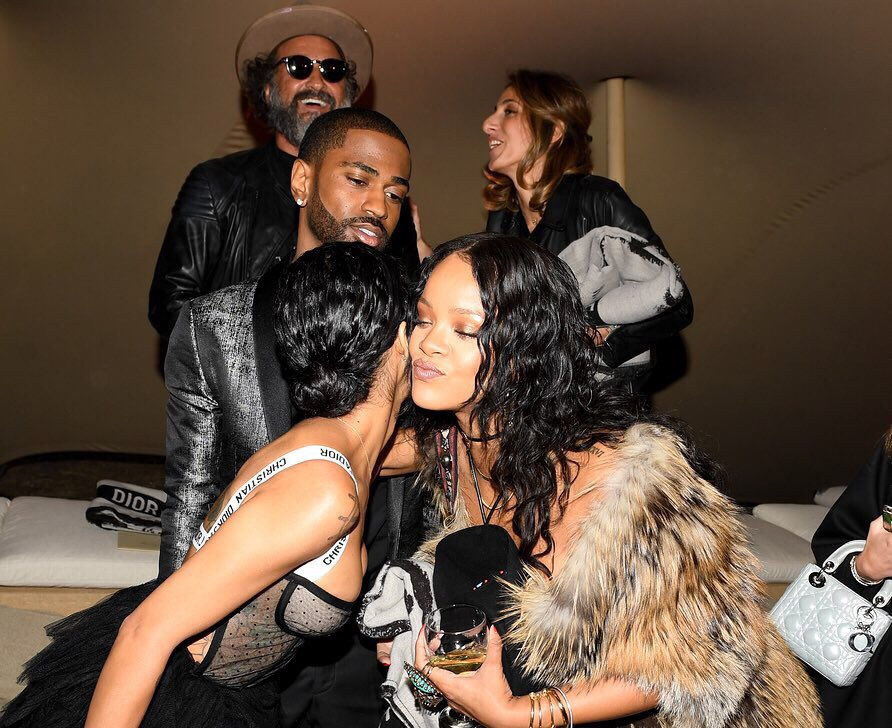 rihanna dating big sean Lol ] tell me who you think rihanna is dating do you think rihanna is dating chris think again  big sean - moves song umbrella artist rihanna.
