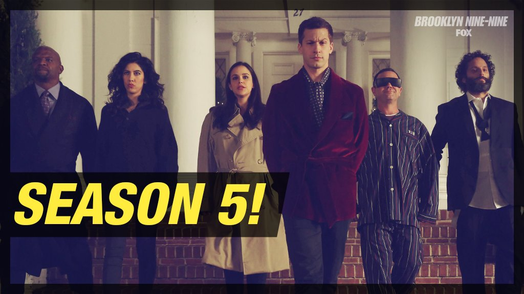 Afbeeldingsresultaat voor Brooklyn nine nine season 5