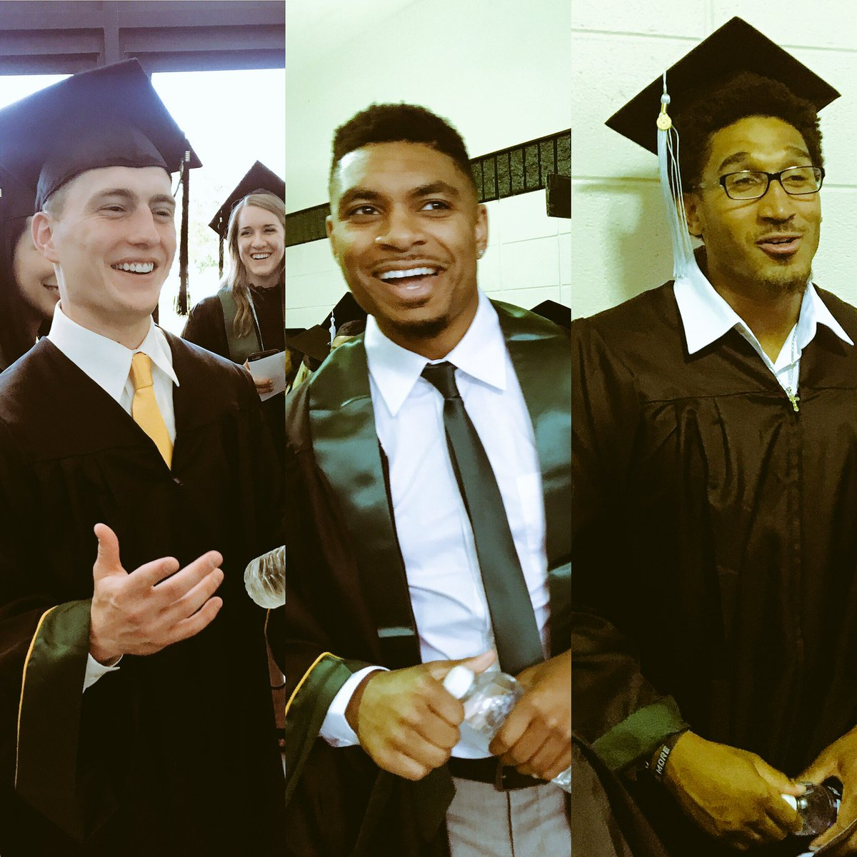 Amazing to see how far these young men have grown in four years at @Ba...