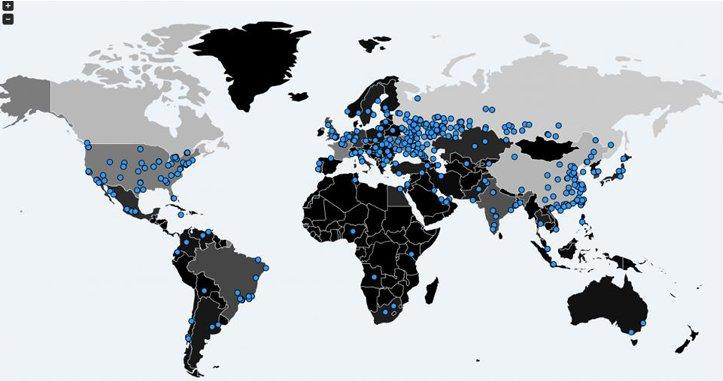 Massivt cyber angreb
