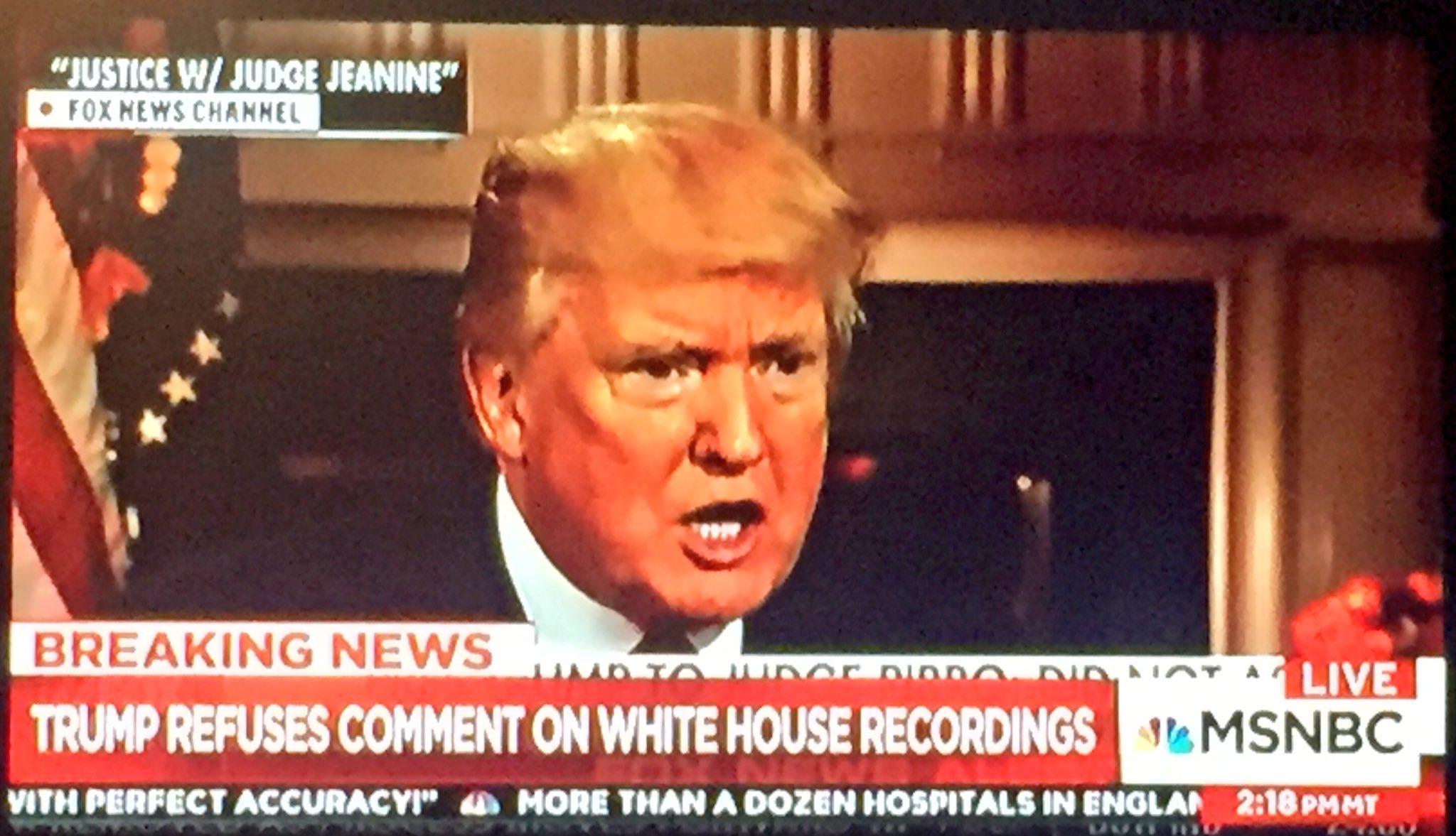 Image result for trump comey recordings tweets'