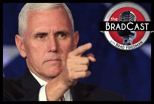 How Mike Pence Helped Suppress the Indiana Vote in the 2016 Election: Today's #BradCast - https://t.co/SRWJewSurY https://t.co/vl6tBhsK72