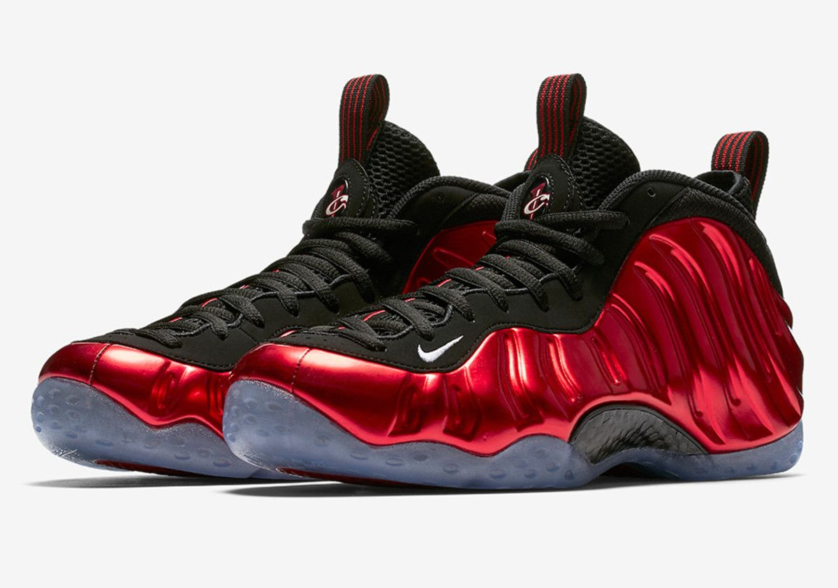 28b6d0a65f0 the nike air foamposite one metallic red hits stores next week