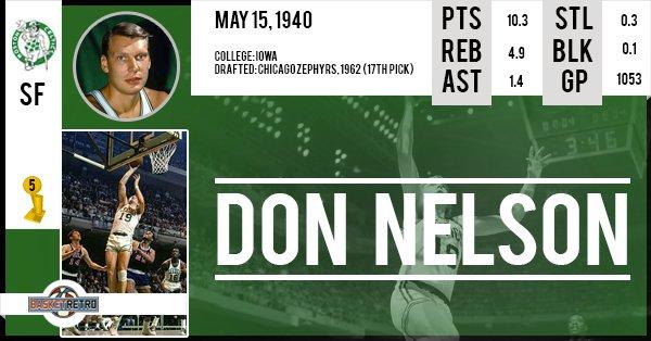 Happy Birthday Don Nelson