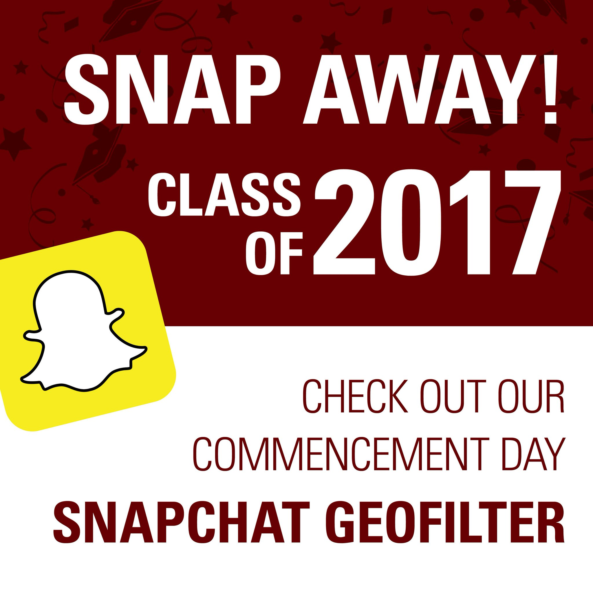 Hey Logger grads + everyone coming to Commencement! Be sure to check out our #Classof2017 Snapchat filter on Sunday! #alwaysalogger https://t.co/F6KlX5wC6y