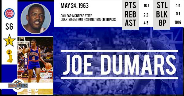 Happy Birthday Joe Dumars