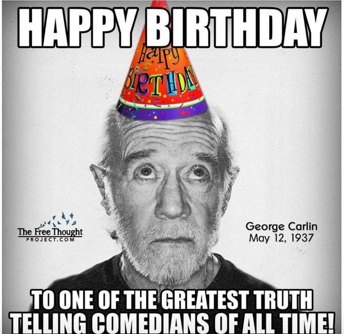 Happy Birthday George Carlin