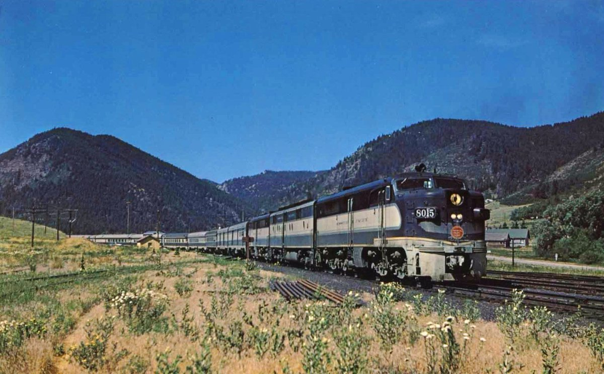 Train to colorado from pa - American Rails Com On Twitter Missouri Pacific Pa 2 8015 W Train 11 The W B Colorado Eagle St Louis Denver Near Palmer Lake Co On 7 30 60