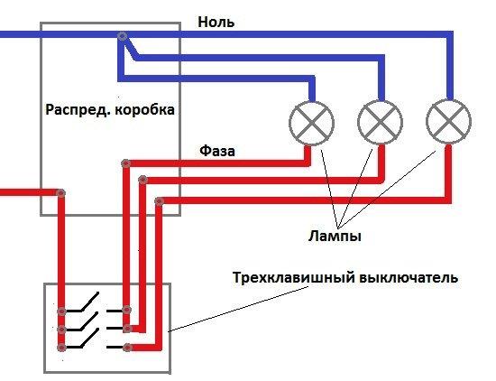 Схема подключения navien