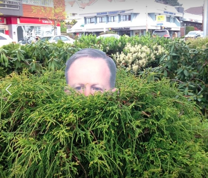 Woman creates Sean Spicer lawn ornaments and they're shady AF https://t.co/IRC9yVkYEO https://t.co/wVIyG23Wrv