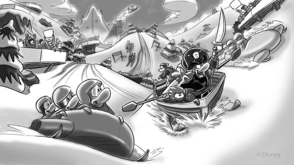 Resultado de imagen para club penguin concept art