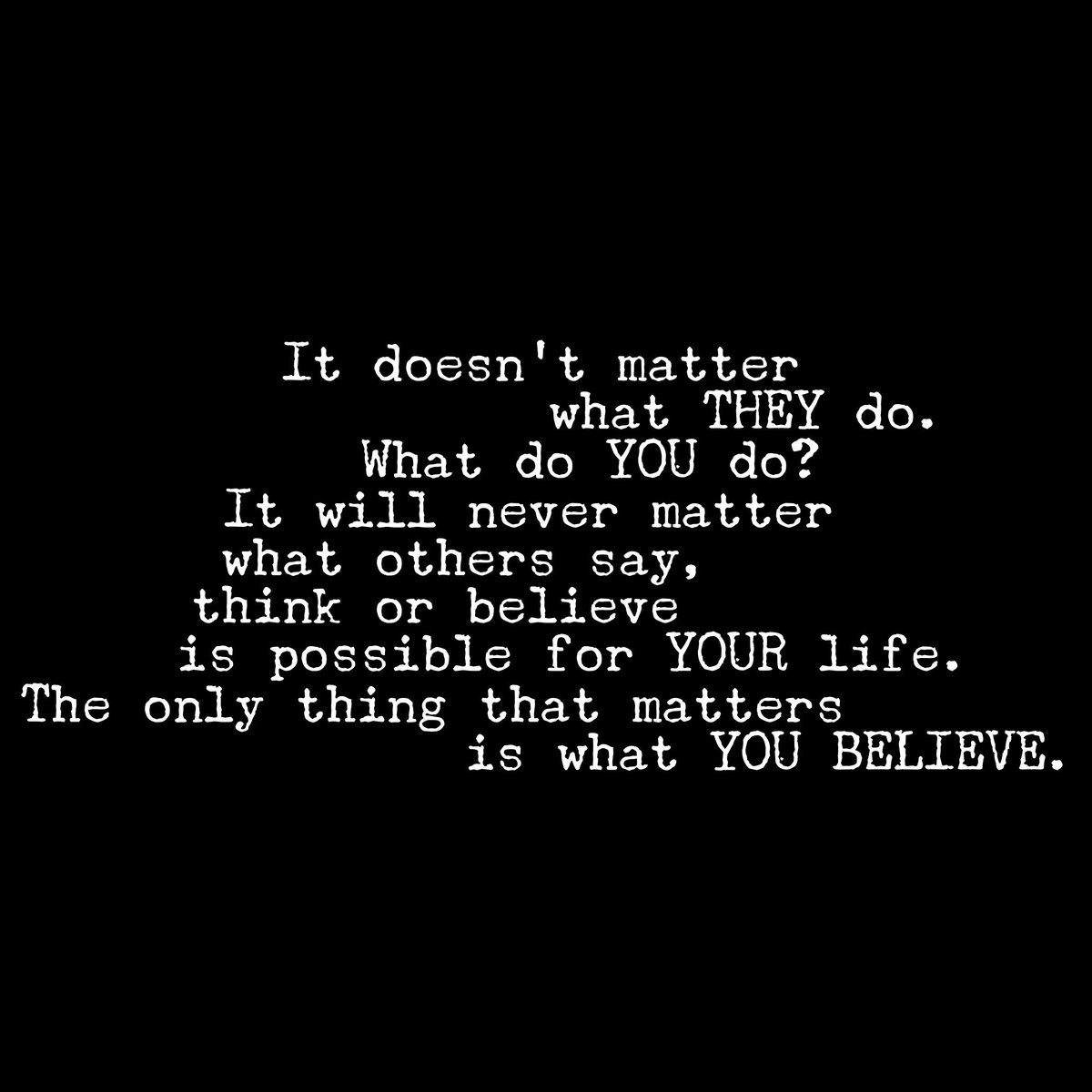 Don t matter what you say