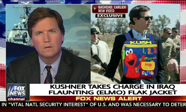 I'm late to the festivities but anyhow here's my 2 cents #VeteransResist   #Kushner #FullMetalElmo # #TakesCharge #TickleMeElmo #Resistance<br>http://pic.twitter.com/CxYTETRP1a