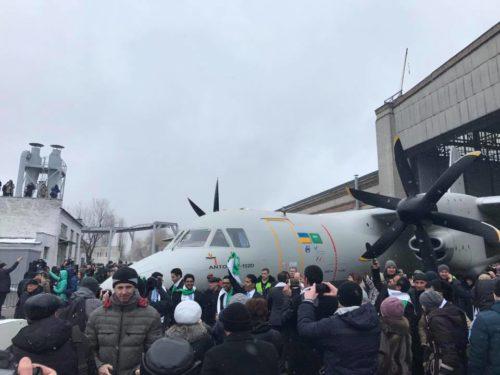 السعوديه وتركيا واوكرانيا يتفقون على انتاج نسخه بحريه من ال Antonov AN-132D  C_rJ7oaUQAAMu_M