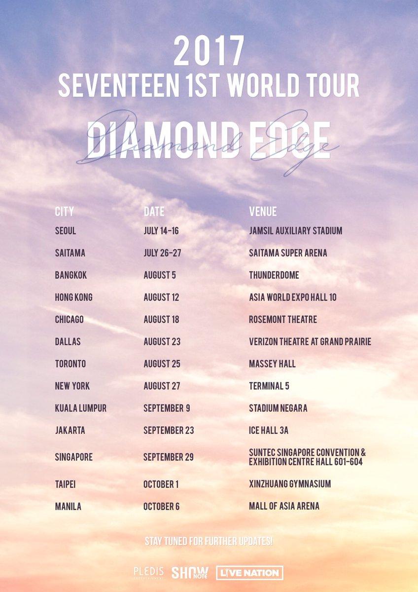 Seventeen World Tour