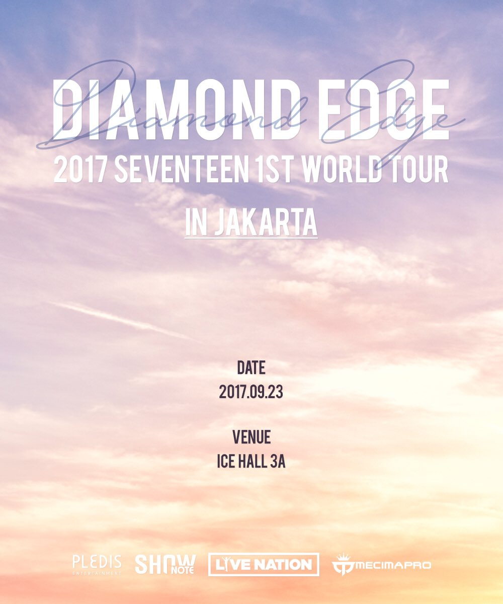 Seventeen 1st World Tour Diamond Edge in Jakarta (saungkorea.com)