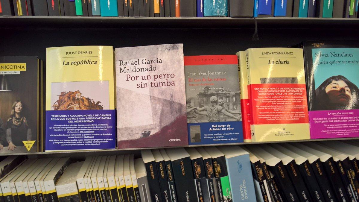 Si buscan en #Sevilla a @RGMaldo está en @espacio_caotica #listaparallevar #novela