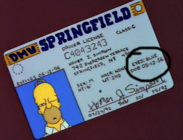Happy birthday to Homer Simpson who turned 61 this week.