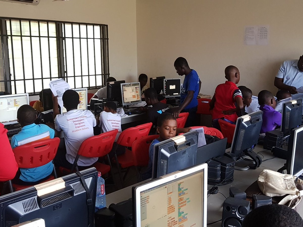 .@airtelghana well done for supporting the #CodeDojo program, you are helping the next generation of games designers and developers #coding<br>http://pic.twitter.com/Pd6k7NwHJV