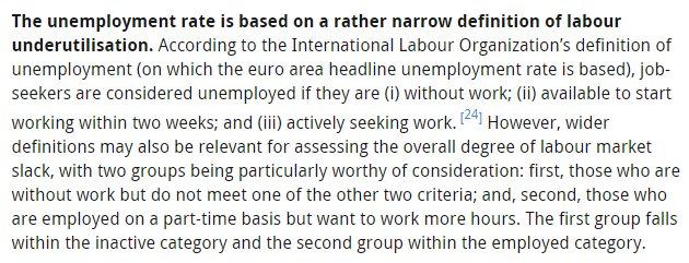 Thumbnail for Desempleo en Europa (y España): unas relevantes precisiones