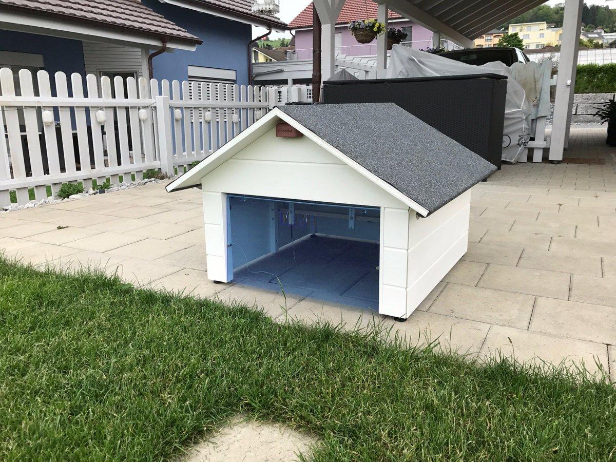 m hroboter garage on twitter wieder eine neue robohut mit tor und solar led 39 s fertig f r den. Black Bedroom Furniture Sets. Home Design Ideas