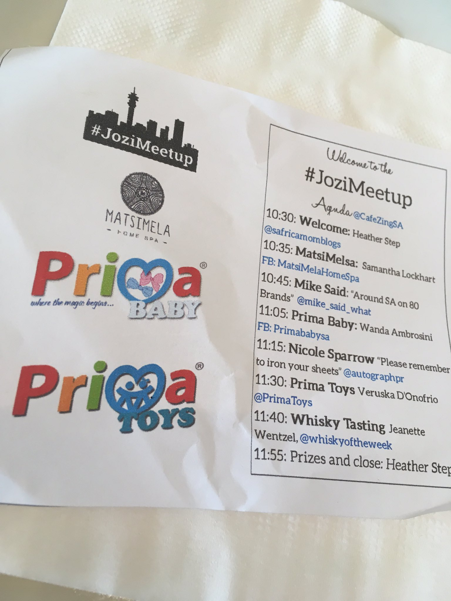 fantastic lineup! Thoroughly enjoying - very insightful and interesting!!  #JoziMeetup #samomblogs @safricamomblogs @CafeZingSA https://t.co/tlYkQe1A86
