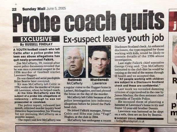 1eb650888f Probe coach quits Ex-suspect leaves youth job Sunday Mail 05-06-05