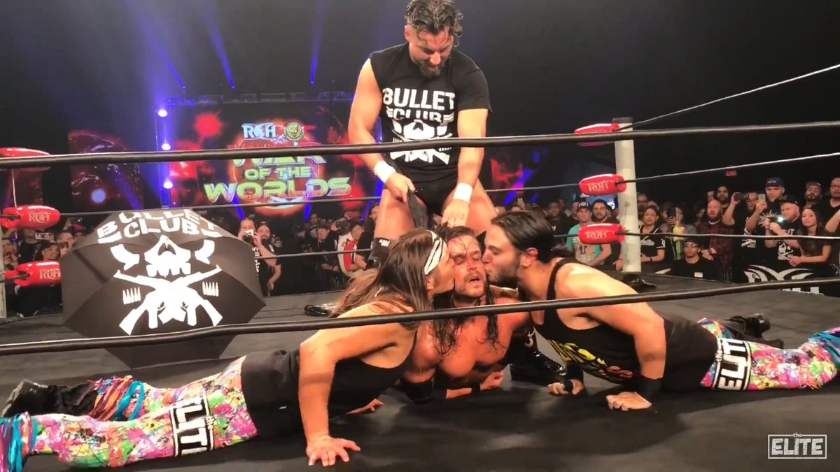 Image result for marty scurll Bullet club