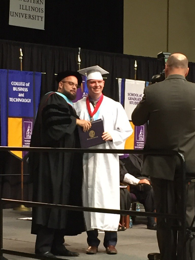 Bachelor of Business, College of Business & Technology #wiupride #wiugrad17 #teamgradle @WilThePiKapp https://t.co/rjL3n2lBcQ